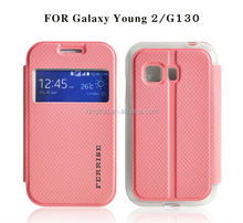 Design fashion rock sublimation free sample phone case for GALAXY Young 2