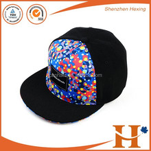 Manufacture high quality basketball snapback caps