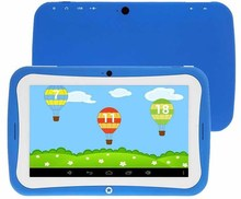 2015 New fashion 7 inch kids tablet pc Android4.4 Quad Core IPS Education pc tablet