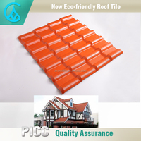 Waterproof Flexible Curve Shingles Synthetic Resin New Plastic Roofing Material