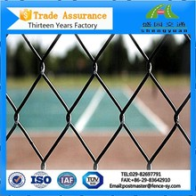 5 Foot Decorative Powder Coated Chain Link Wire Fence For Sale