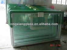 Laminated glass basketball backboard