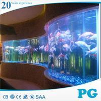 PG hot sale acrylic glass fish tank/aquarium/swimming pool