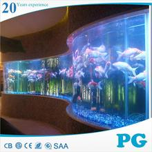 PG hot sale acrylic glass fish tank/aquarium/swimming pool