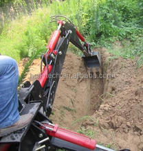brand new HCN 0301 series crawler loader with backhoe attachment from China