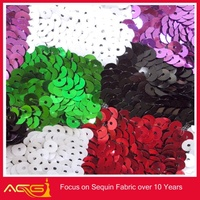 payment asia alibaba china Hot sequin embroidery fabric electroluminescent fabric