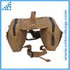 Outdoor Adjustable Dog Saddle Bag Large Capacity Dog Backpack dog treat bag