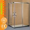 HZ6870 wave glass shower room shower toilet unit and tub shower enclosures