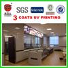 4x8 uv coated imitation wall decorative plastic stone panel