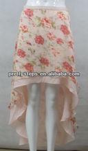 Pretty Steps women 2014 new model skirt Lady elegant flower printing Summer skirt