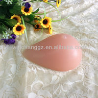 water drop fake silicone breast ,nude breast forms for women