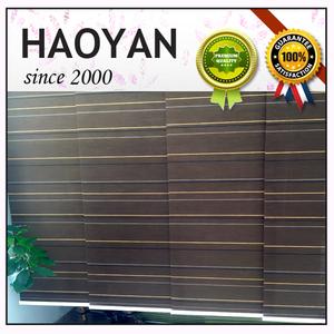 Oficina de papel de rodillo persianas cortinas de panel de tonos de alta calidad