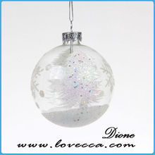 HOT sale online wholesale clear glass christmas ball ornaments for sale