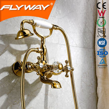China 2014 Gold shower water mixer bath shower mixer
