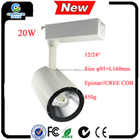 most powerful led spotlight 20w Natural convection heat dissipation cob led spotlight