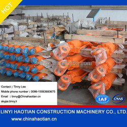 low price long stroke double acting telescopic hydraulic cylinder support OEM