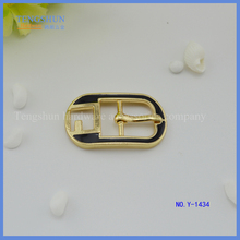 Zinc Alloy Material buckle for bags or shoes wholesale can fill the colour oil