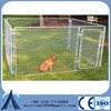 Large outdoor modular dog kennel kennels for dog/iron fence dog kennel/dog kennel fence panel