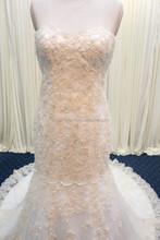 JPSKIRT1506115 Beautiful Hand work Beaded Appliqued Long Wedding Dress