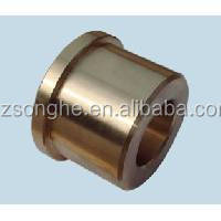 Customed aluminium clear anodized bushings knurled made in China