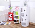 Abs estilo europeu país 3 camada de armazenamento gabinete plástico