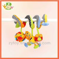 Crib Bed Hanging Toys Infant Baby Toy Rattle