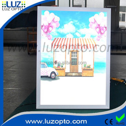 light box poster size A0 A1 A2 A3, back lit sign box,film backlit lightbox