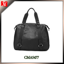 2014 long handle shoulder bag genuine leather shoulder strap book bag