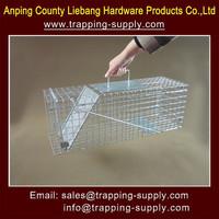 Rat Rabbit Mink Grey Squirrel Animal Folding Cage Trap