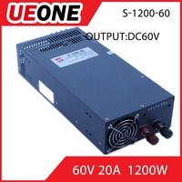 manufacturer 60v/72v 1200W switching power supply for industrial
