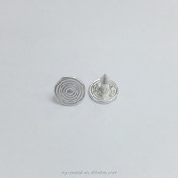 8.5mm arrow shape aluminium alloy jeans nails