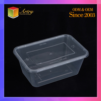 2015 hot sale food grade square clear plastic food tray