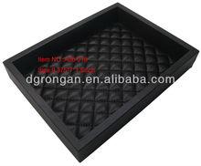 black sheep leather desk tray