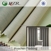 Blackout curtain fabric the least MQO is 1roll about 35-50 meters each colour