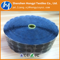 high quality precut adhesive hook and loop pads/dots/coins with glue basis