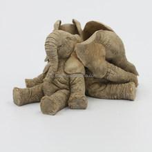 Friendly Resin Elephant Decor