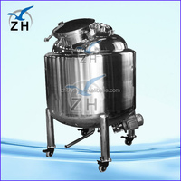 stainless steel truck milk tank mwk mixing tank with agitator