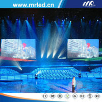 HD P3.84 full color indoor led true color backdrop screen