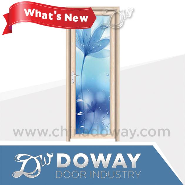 Interior de la puerta de aluminio nuevo diseño