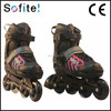 New design kids shoes 4 wheels, flashing roller skate hot sell