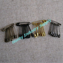 Black/Bronze/Gold/Gunmetal Coloured Price Tag Safety Pin