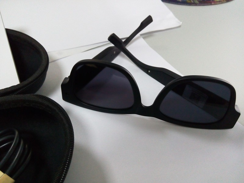 Fhd 1080 وعاء تيار الجاسوس النظارات الشمسية المعيشة اللاسلكية