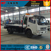 Breakdown Recovery Truck with 5tons crane wrecker tow truck