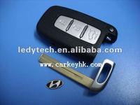Hyundai 3 buttons key shell key cover smart key blank