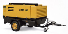 High competitive price diesel portable type air compressor model XATS156Dd
