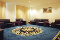 Classical flower design decorative meeting room carpets,handmade wool carpet