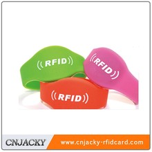 silicone supermarket loyalty NFC wristband /hubei