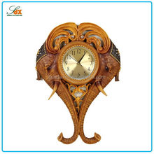 Cheapest polyresin wall clock in resin home decor / Other special resin clock in resin crafts