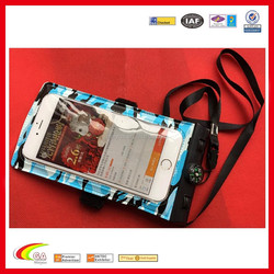 The Newest!! Camouflage color cellphone waterproof bag with compass, Cell phone waterproof bag oem manufacturers & wholesales