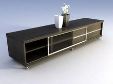 madera nueva moda de lujo llevó tv stand de muebles para el hogar